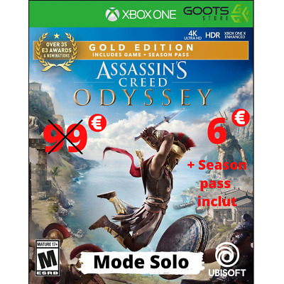 Assassin's Creed Odyssey Edition Gold Profil Xbox One [ Mode Solo Only ]
