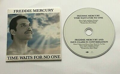 Freddie Mercury: Time Waits For No One/Dave Clark Interview - Rare Promo CD!