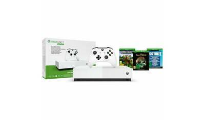 MICROSOFT Xbox One S All-Digital Edition with Minecraft, Sea of Thieves Fortnite