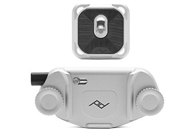 Peak Design Capture Camera Clip V3 Silver with Plate