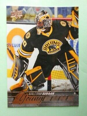 2015/16 Upper Deck Young Guns Malcolm Subban #211 Rookie RC