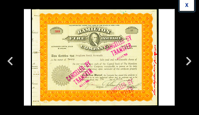 A Five Huge Size Historical Insurance Document True Americana Collection