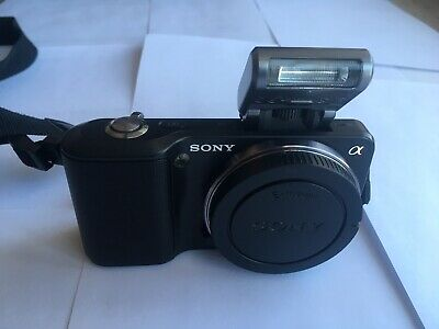 Sony Alpha NEX-3 14.2MP (Body Only) Black Shutter count-13,672
