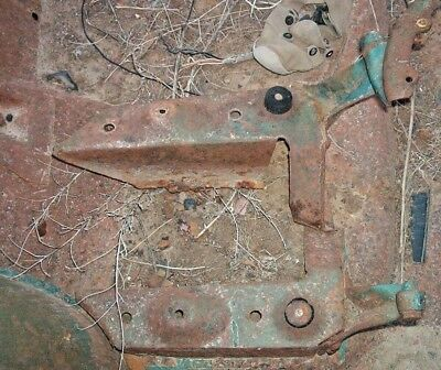 1955 1956 1957 Chevrolet Rear Lower Seat Risers Hinges & Hardware Station Wagon