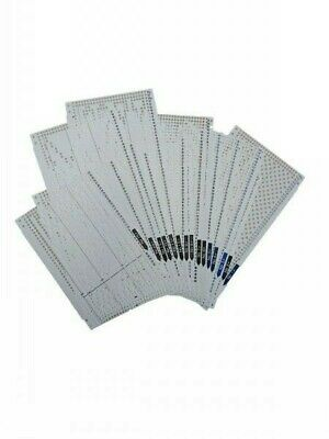 Lochkarte 24er Rapport Toyota Empisal Silver Reed Brother Serie 1
