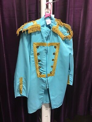 """Sgt Pepper - Turquoise , 46"""" Chest"""