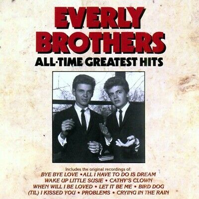 The Everly Brothers : All Time Greatest Hits Oldies 1 Disc CD