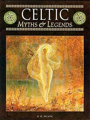 Celtic Myths & Legends Warriors Wizards Fairies Art Ireland Britain Rome RARE XL