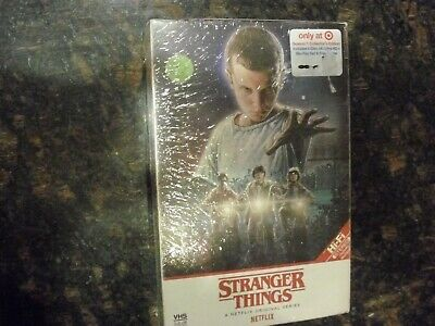 Stranger Things Season one 4K Ultra HD + Blu-Ray Target Exclusive with Poster