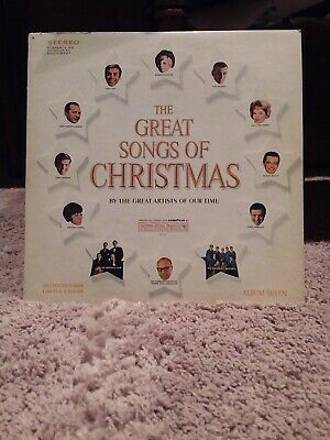 The Great Songs Of Christmas Album 7 Vynl Record Various Artists