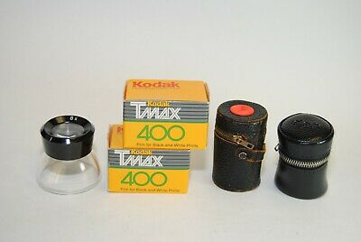 2 Rolls of Kodak TMAX 400 Film Black & White Neg 135-24 Expired 03/1991