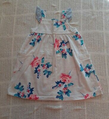 Joules Girls Dress Age 2 years Excellent condition blue floral design