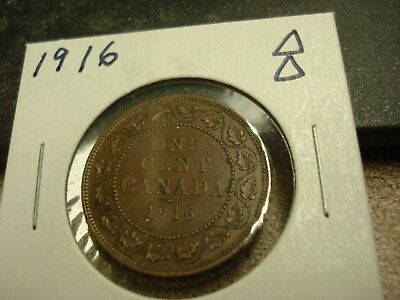 1916 - Canada one cent - Canadian penny - Nice Coin