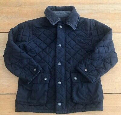 Baby Gap Boys Quilted Jacket Navy Age 5