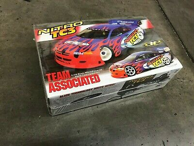 1/10 scale 1997's TEAM ASSOCIATED NITRO RC10 TC3 R/C 4WD Racing Car Kit