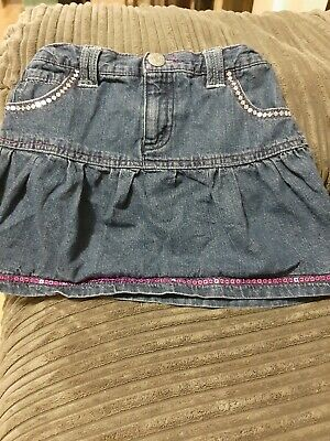 Girls Denim Skirt age 6/7. Cherokee from Tesco
