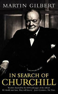 In Search of Churchill, Paperback by Gilbert, Martin, Brand New, Free shippin...