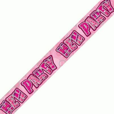 Hen Party Party Banner 2.6m  Makes Great Sashes Too For The Hens