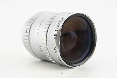 Angenieux 10mm f1.8 Retrofocus R21 Wide Angle Lens for C Mount Filter Ring Dent