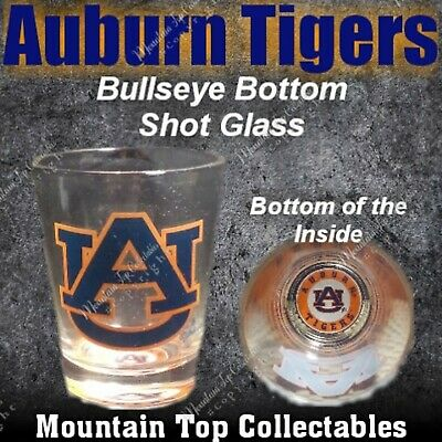 Multicolor One Size Game Day Outfitters NCAA LSU Tigers Bullseye Bottom Shotglass