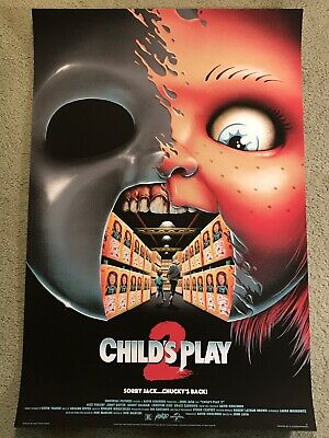 Child's Play 2 Chucky Doll Art Print Poster Mondo Horror Movie Matt Ryan Tobin