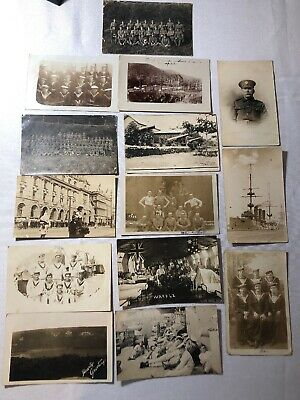 Estate Collection of WW1 Real Photo Postcards