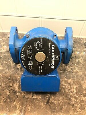 Grundfos Brute UP15-42F Maintenance-Free Circulator Pump, Cast Iron