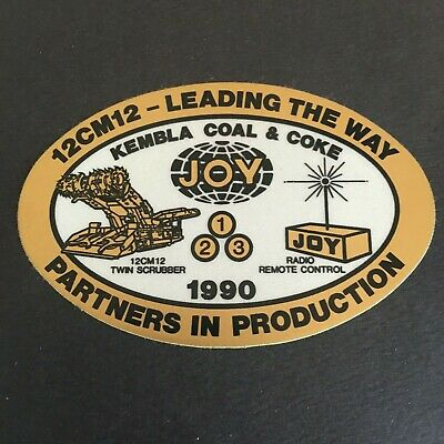 12Cm12 Leading The Way - Partners In Production - Joy Mining Sticker