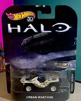 HOT WHEELS RETRO ENTERTAINMENT HALO URBAN WARTHOG 2018 SAVE 6/% GMC