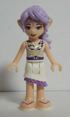 New Lego Elves MiniFigure AIRA Windwhistler Dark Purple Dress 41176 41178