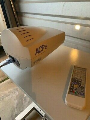 Topcon ACP-8 Optometry Auto Chart Projector with remote control and wall mount