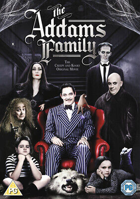 The Addams Family DVD (2013) Anjelica Huston, Sonnenfeld (DIR) cert PG