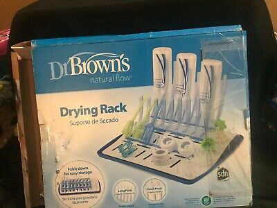 Dr. Brown's Natural Flow Drying Rack -  Folds for Easy Storage