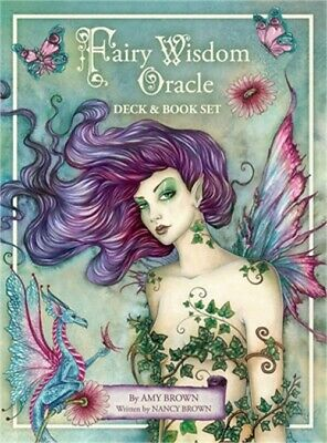 Fairy Wisdom Oracle Deck & Book Set (Cards)