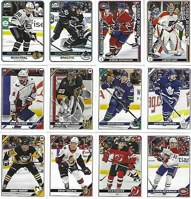 2019-20 19-20 Topps Nhl Stickers Regular All-Stars  $1,00 Each