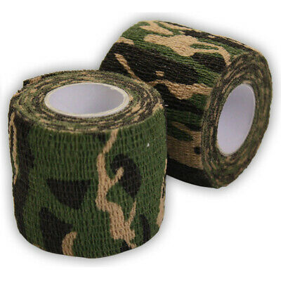 Details about  /1Pc Outdoor Camo Gun Hunting Waterproof Camping Camouflage Stealth Duct Tap UUMW