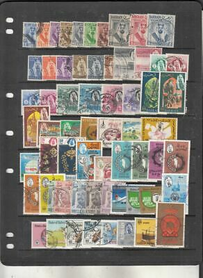 oldhal-Bahrain- Fabulous lot of Stamps-Used- 1960-80