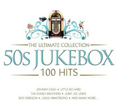 Various Artists : 50s Jukebox - The Ultimate Collection CD Box Set 5 discs