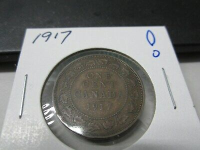 1917 - Canada one cent - Canadian penny - Nice Coin