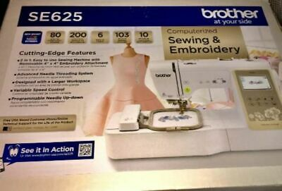 Brother SE625 Computerized Sewing and Embroidery Machine Sealed New in Box