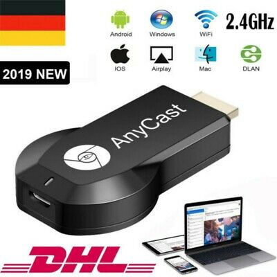 1080P TV Stick Google Dongle Chrome Cast Mac HDMI Anycast Smart Media Player NEU