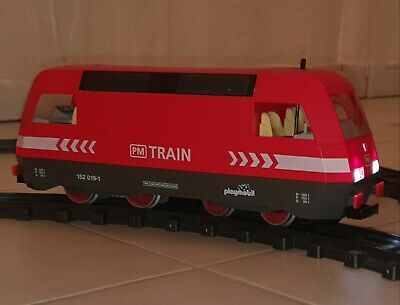 playmobil porte de train RC wagon locomotive ref 40316 4119 H43