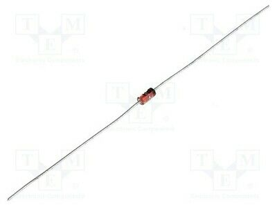 10X 3EZ15 Diode Zener 3W 15V Ammo Pack DO15 einzelne Diode DIOTEC SEMICONDUCTOR