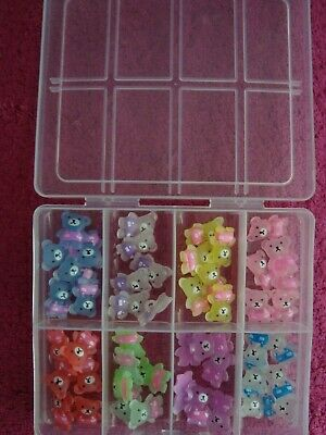Box Of  48 Teddy Buttons - Assorted Colours