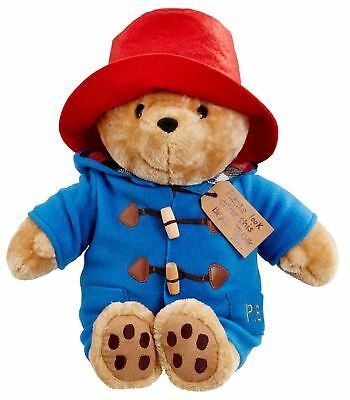 Rainbow Designs LARGE CUDDLY CLASSIC PADDINGTON BEAR Baby Toys Activities BN