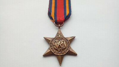 WITH FREE ÛK POSTAGE WW2 BURMA STAR 100/% GENUINE FULL SIZE