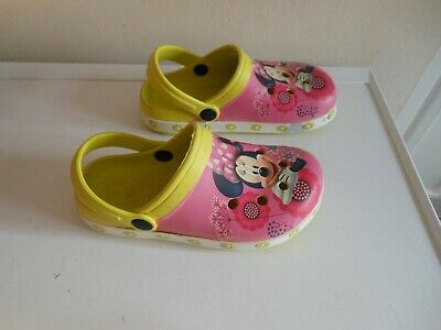 Girls Minnie Mouse Lightweight Beach /Sea /Pool Sandals Shoes Size 11.5 -12