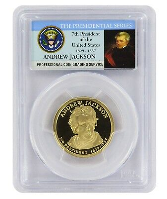 2008-S Andrew Jackson Presidential Dollar PCGS PR69DCAM Limited Edition Series