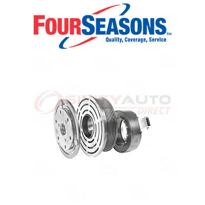 New A//C AC Compressor Fits 2004-2014 Ford F53 V10 6.8L Engines ONLY