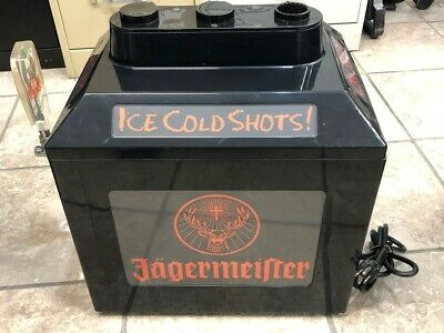 Jagermeister Ice Cold Shots On Tap Machine. Model JEMUS